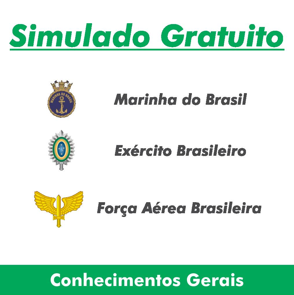 Simulados de Conhecimentos Gerais - EsFCEx